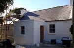 After restoration work on a traditional stone cottage by Pat Harkin Stonework & Restorations, Donegal, Ireland